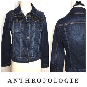 ANTHROPOLOGIE ETT TAIA Denim Jacket - Large L